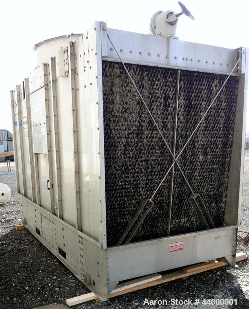 Used- Marley NC Class Single Cell Cooling Tower, Model NC111SS, Approximately 153 Nominal Tons. 304 Stainless steel housing....