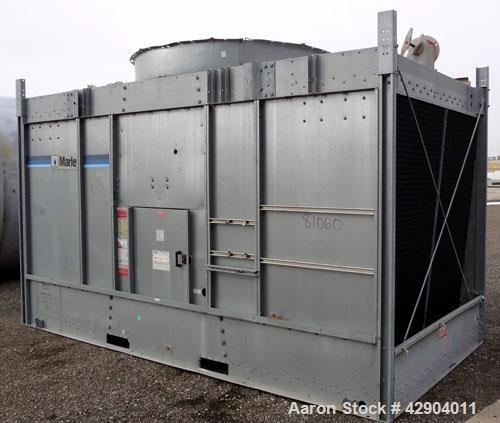 """Used- Marley Cooling Tower Model # NC2221GS, Nominal 228 ton. 15 hp, 3 ph., 220/480V fan motor, (2) 6"""" flow control valves, ..."""