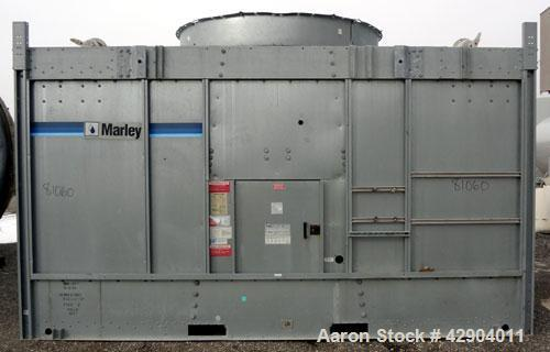 "Used- Marley Cooling Tower Model # NC2221GS, Nominal 228 ton. 15 hp, 3 ph., 220/480V fan motor, (2) 6"" flow control valves, ..."