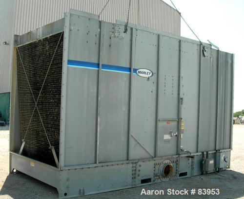 USED- Marley Cooling Tower, Model NC412, Nominal Capacity 379 Ton. Single cell. Galvanized steel housing. 8' diameter fan. D...