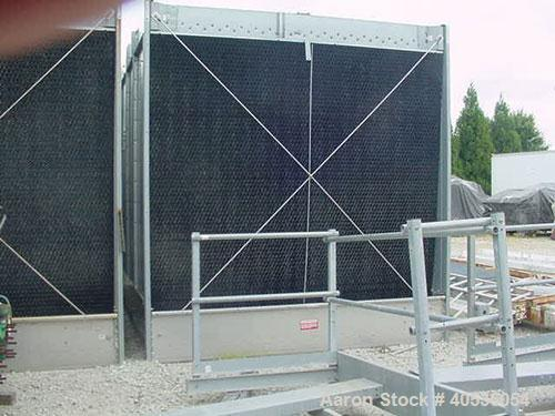 Used-Marley Model NC5201CS Serial Cooling Tower, 403 ton. Cooling 1209 GPM of water from 95 deg F to 85 deg F at a 78 deg F ...