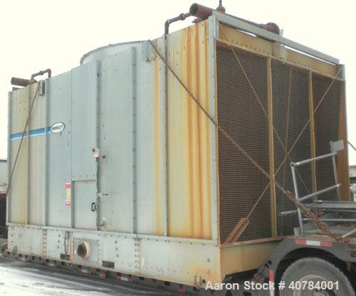 Used- Marley NC Series Crossflow Cooling Tower, 475 nominal tons, model NC6101GM. Galvanized construction. Rated capacity 1,...