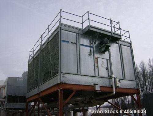 Used-Marley 500 ton, model NC6211GM, counter-flow cooling tower.