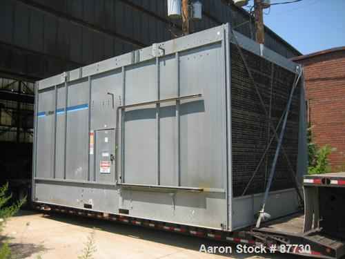 USED: Marley cooling tower, model NC7222GS, nominal capacity 1010 ton. Galvanized steel housing. Unit designed to cool 3300 ...
