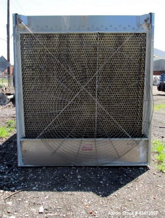 Used- Marley NC Series Open Loop Cooling Tower, Model NC8302BS-01. 15 HP Fan with stainless steel basin, serial# 205130-A1.
