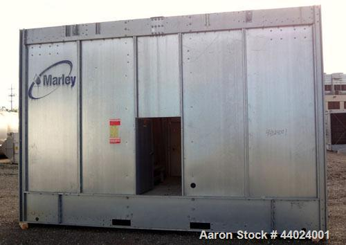 Used-Marley NC Class Single Cell Cooling Tower, Model NC8304HG, Serial 825477-A1. Approximately 300 Nominal Tons. Galvanized...