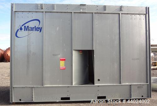Used- Marley NC Class Single Cell Cooling Tower, Model NC8304HG, Serial 825477-B1. Approximately 300 Nominal Tons. Galvanize...