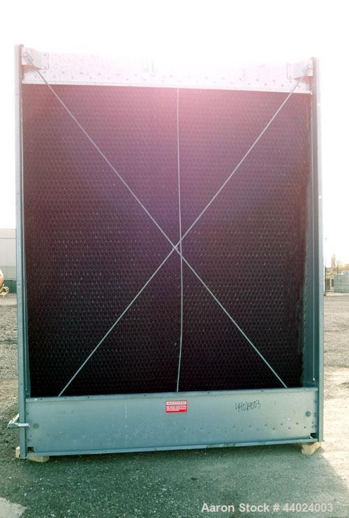 Used-Marley NC Class Single Cell Cooling Tower, Model NC8304HG, Serial 826333-B1. Approximately 300 Nominal Tons. Galvanized...