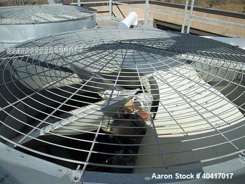 Used-Marley Cooling Tower, Model NC8305BG, 425 ton, built in 2006.  Hot and cold basins are stainless steel.