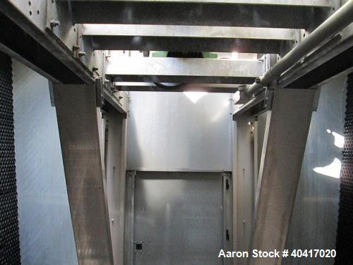 Used-Marley Cooling Tower, 425 Tons, Model NC8305BG, hot and cooled basins are stainless steel, built 2006.