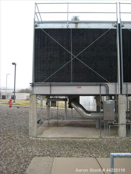 Used- Marley Cooling Tower, Model NC8309-E2CS, Approximately 1126 Tons. Nominally rated 16.9 mm btu/hr, 3380 gpm flow rate, ...