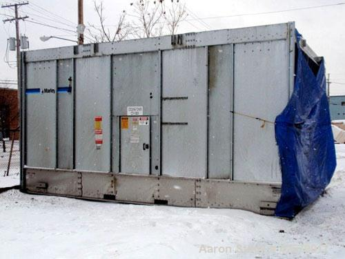 Used- Marley NC Class Single Cell Cooling Tower, model NC8309, approximately 700 nominal tons. Galvanized steel housing. Des...