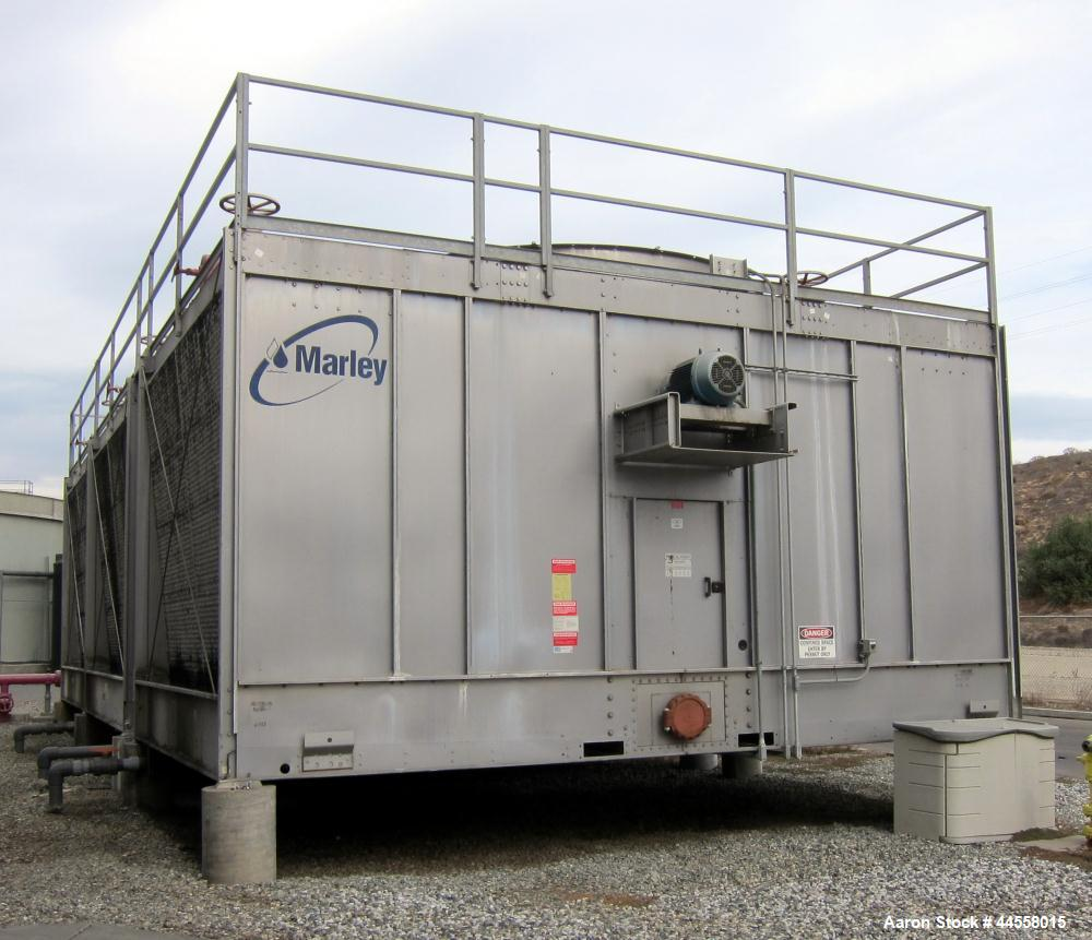 Used-Marley NC Class Cooling Tower, Model NC8309G. Crossflow, Series 300 stainless steel casing and framing. Galvanized cons...