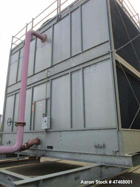 Used- Marley Cooling Tower, Model NC 9201. 1200 gallons per minute of cooling water from 57 degrees F to 48 degrees F. Nomin...