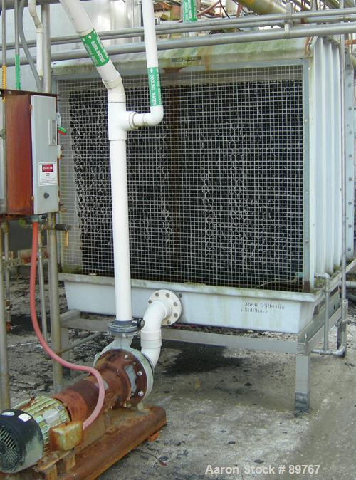 USED: Marley Aquatower cooling tower. 7.5 hp motor with pump.