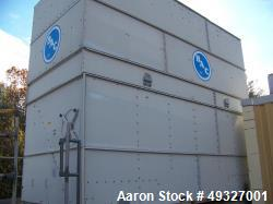 Used- BAC (Baltimore Aircoil Company) Cooling Tower, Model VT1-N370-PM. 600 USGPM of water 100° F to 80° F at 75° F entering...