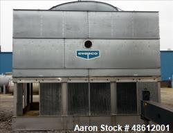Used- Evapco Induced Draft Counterflow Cooling Tower, Model AT 112-318