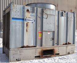 Used- Marley NC Series Single Cell Cooling Tower, 130 Ton, Model-C1102CM, Open Loop System. Galvanized steel housing, stainl...