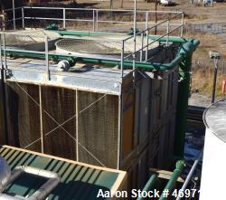 Used- Marley NC Class Cooling Tower, Approximate 849 Nominal Tons, Model NC8311G2CG. Galvanized housing, stainless steel bot...