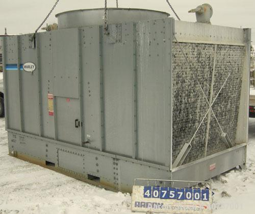 Used- Marley NC Series Cooling Tower, 221 Ton Capacity, Model NC2121GS.  Rated 653 gallons per minute.  Fan driven by a 15 h...