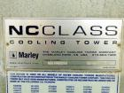 Used- Marley NC Class Single Cell Cooling Tower, model NC8309, aApproximately 700 nominal tons. Galvanized steel housing. De...