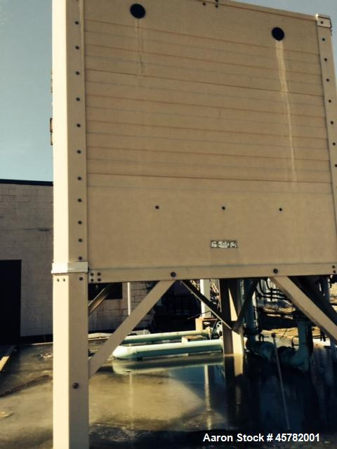Used- Tower Tech Cooling Tower, Model TMT-144-39. 400 Ton capacity. Rated 400 GPM minimum and 1200 GPM maximum.