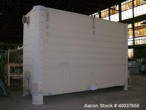 Used-Tower Tech Inc Cooling Tower, 167 tons, model TT T.108.219, fiberglass construction. Single cell. Serial  #1166.19.04.0...