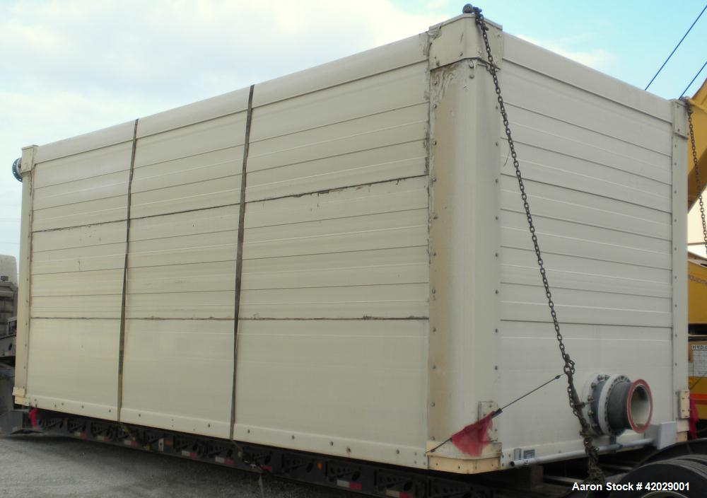Used- Tower Tech Modular Cooling Tower, approximately 2000 tons, model TTEF-288-319, fiberglass construction. Triple cell un...