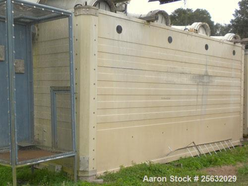 Used- Tower Tech Cooling Tower, approximate tons, model TTMT-288-319, fiberglass construction. Rated gallons per minute. Inc...
