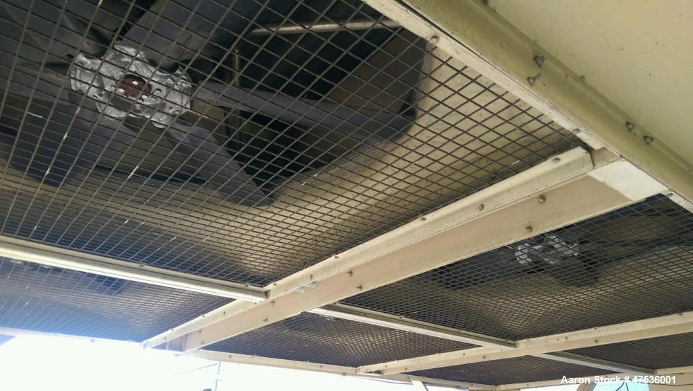 Used- Tower Tech Cooling Tower, Model TTXE-061975. Water collection system, Flow-Thru basin, variable flow rotary spray nozz...