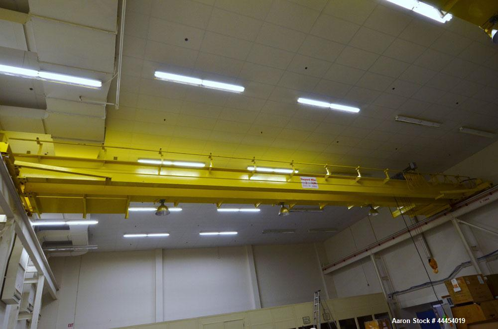 Used-Shepard Niles 3 Ton Bridge Crane. Includes trolley, and hoist. Approximate 58' span. Serial# 70858.