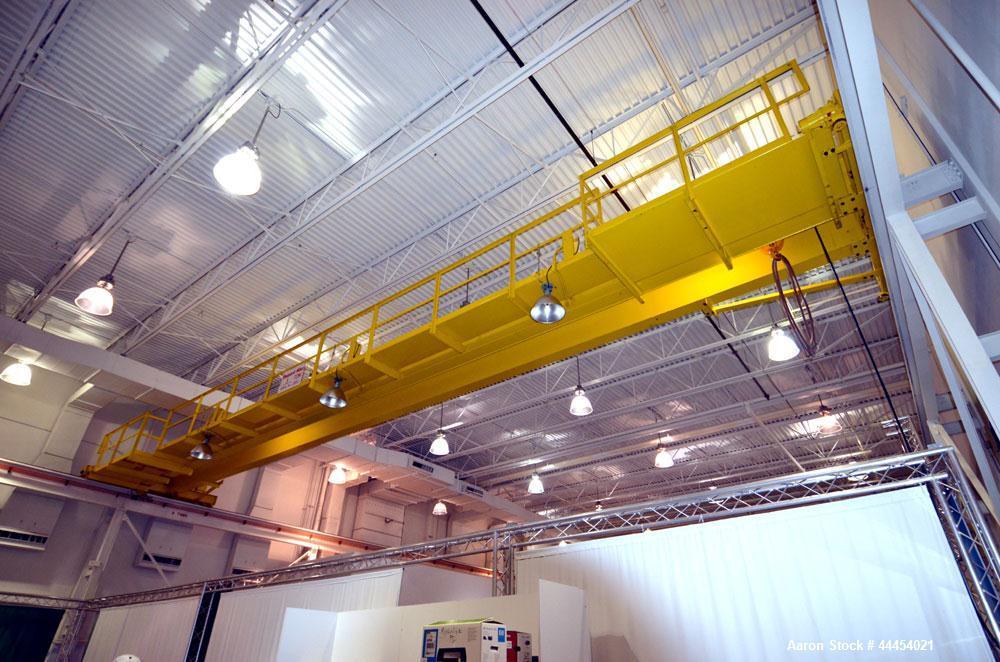 Used-Shepard Niles 3 Ton Bridge Crane. Approximate 58' span. Serial #70857.