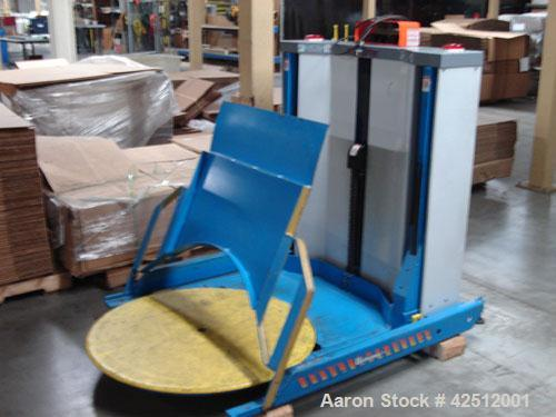 """Used-Bishamon EZ Off Lifter Pallet Carousel and Positioner. Maximum pallet size 44"""" x 48""""; 1 hp, 115V, 1 phase electric moto..."""