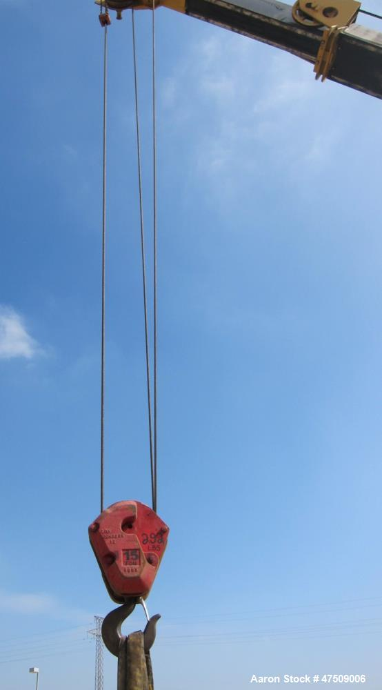 Used- Grove Crane, Model RT58D. 20 Ton.