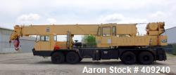 Used- Grove Crane, Model 8450G. 45 Ton Capacity. GVWR (gross vehicle weight rating) 50 ton 8X4X4 - Detroit 6 cylinder, Eaton...