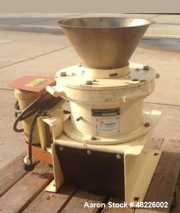 """Used- Marcy Gyroll 10"""" Lab Scale Cone Crusher. Driven by a 2 hp 208-230/460 volt motor."""