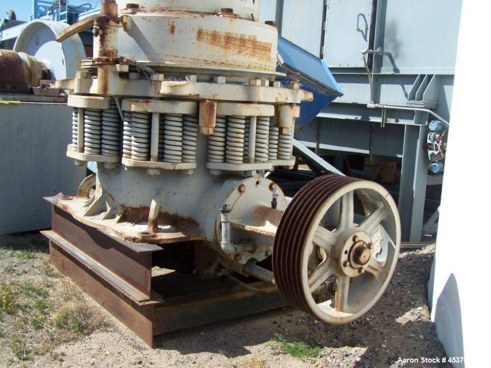 Used-Nordberg Symons Shorthead Cone Crusher