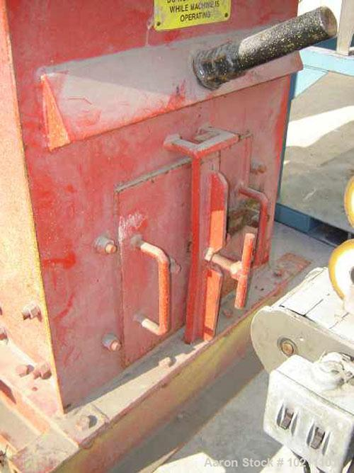 Used-20 HP Hazamag Impact Crusher, Model APS-0604. Typically used as a secondary impactor to crush medium-hard materials dow...