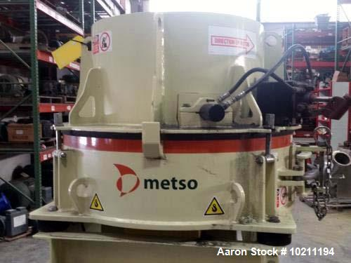 Unused- Metso Minerals Barmac Vertical Shaft Impactor VSI Crusher, Model B3100SE. 20hp, 208-230/460 volt, 3520 rpm, 60hz, 3 ...