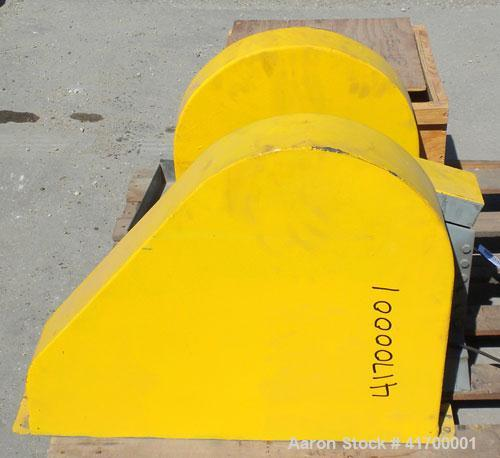 """Used- Bico Chipmunk Jaw Crusher, model VD67, carbon steel. Jaw capacity 2 1/4"""" x 3"""". Rated 400 pounds an hour. Reduction siz..."""