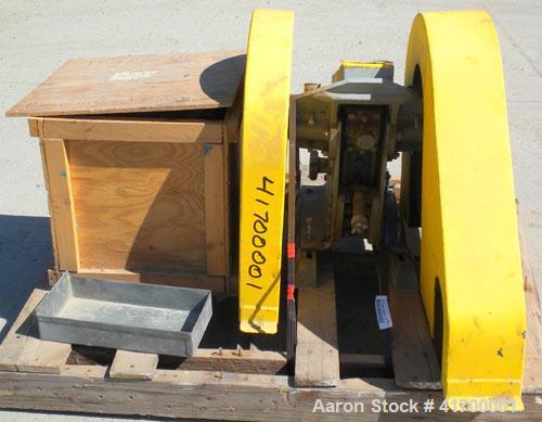"Used- Bico Chipmunk Jaw Crusher, model VD67, carbon steel. Jaw capacity 2 1/4"" x 3"". Rated 400 pounds an hour. Reduction siz..."