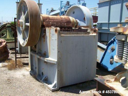 Used- Cedar Rapids Roller Bearing Jaw Crusher