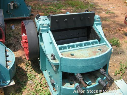 "USED: Kue Ken 14"" x 42"" jaw crusher, model 107. Excluding motor,pulley and belts. Capacity: product size 2"" to 6"" up to 200 ..."