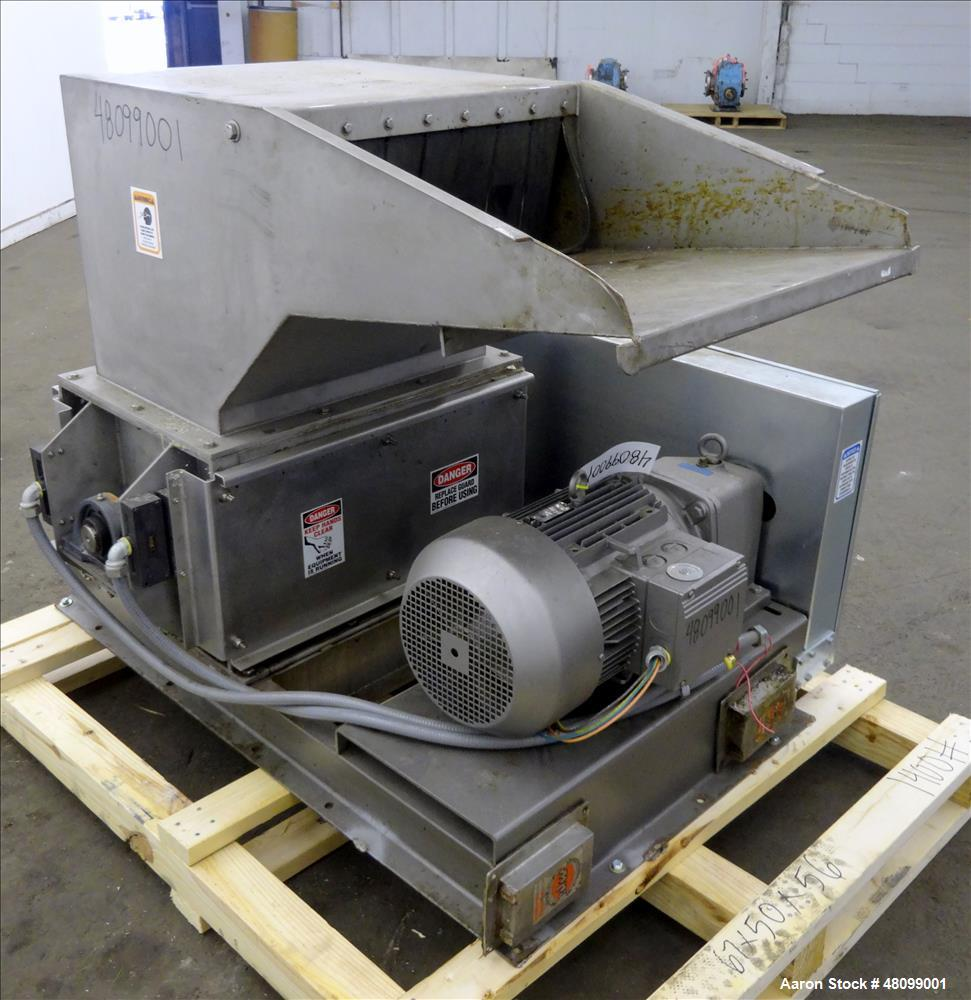 Used- Machine and Process Design Single Rotor Crusher.