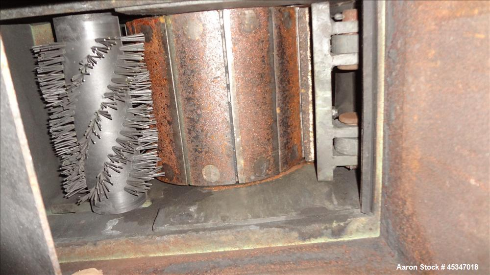 Used- Tema Single Roll Crusher, Model 30/25