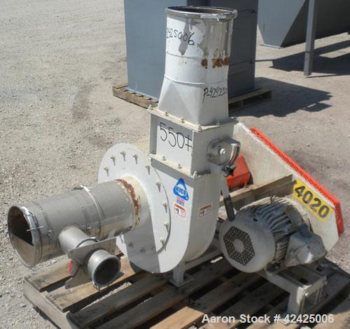 Used- Kice Cyclone System Consisting Of: (1) Kice cyclone, model CK-30LH, carbon steel. Approximate 1450 CFM. 30'' Diameter,...