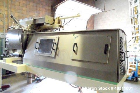 Used- Stephan Combicut TC 850. Stainless steel. With Vacuum pump: LEMA 125 double jacket voltage: 600volts / 60 Hz / 3phase ...