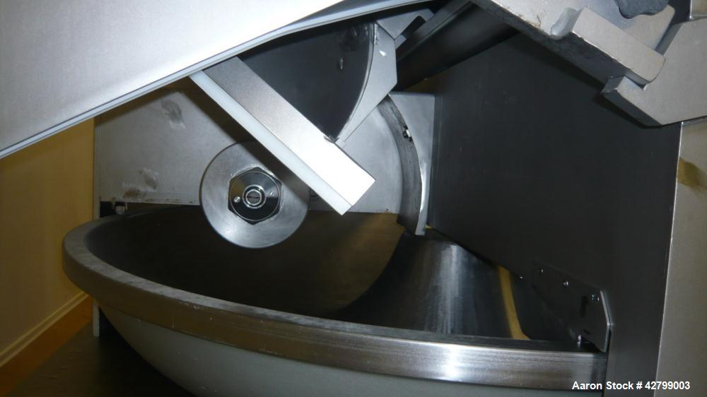 Used-  Alpina cutter. Stainless steel. Vacuum. Knifes available