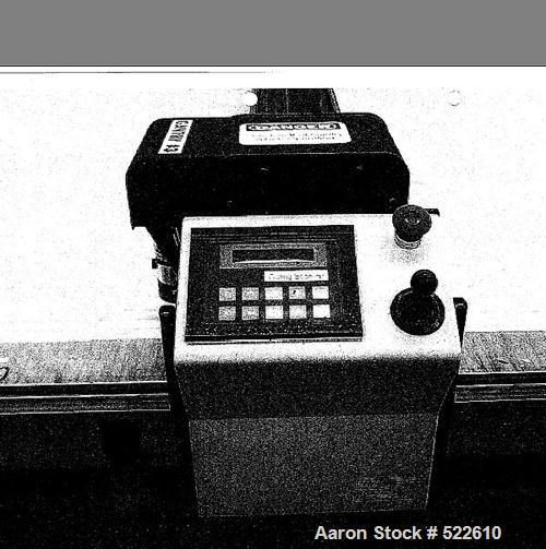 """Used- Gerber Technology Gerbercutter, Model DCS 2500. Length of table 36 feet (11 meter), divisible; width of table 59"""" (150..."""