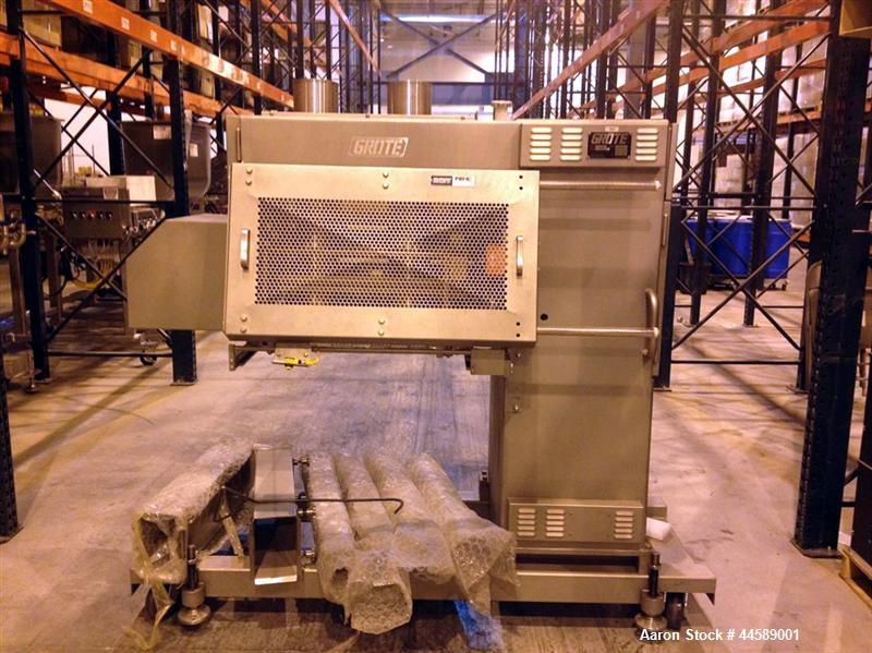 Unused- Grote Industrial Slicer, Model S/A-522E